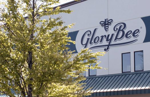 GloryBee sign on building